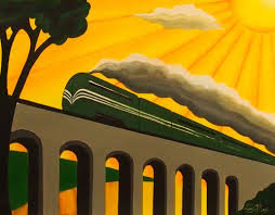 art deco vintage travel posters 1930s collectible art emma childs