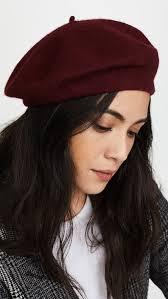 barret hat hat attack wool beret shopbop