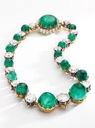 antique emerald necklace images An impressive antique emerald and diamond necklace late 19th jpg
