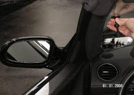 Remove Blind Spot Mirror Installation