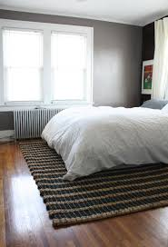 bedroom attractive bedroom decoration using dark grey small rugs