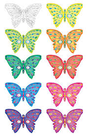 to download free printable butterflies 26 with additional coloring