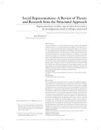 groupe accor si e social social representations a review of pdf available