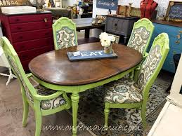 Repurpose Dining Room by Dining Room Table U0026 Chairs Makeover Using Repurpose Chroma Color