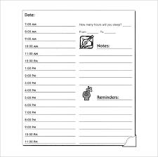 blank hourly calendar template u2013 2018 printable calendars