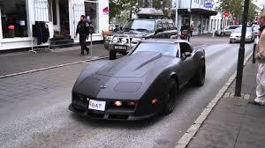 corvette stingray matte black c3 corvette in iceland bat youtube