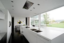 ilot central cuisine contemporaine maison moderne cuisine ouverte chaios cuisine