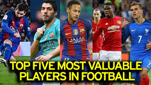 revealed the 20 most valuable players in world football