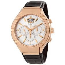 piaget automatic piaget polo automatic chronograph 18kt gold men s