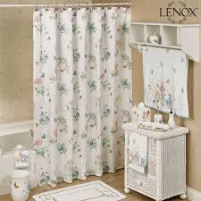 Touch Of Class Shower Curtains Lenox Butterfly Meadow Shower Curtain