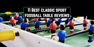 classic sport foosball table 11 best classic sport foosball tables reviews game table zone