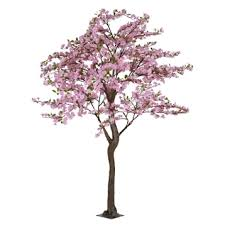pink faux apple blossom tree 7 ft kirklands