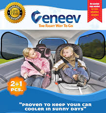 car sun shade for side and rear window 3 pack car sunshade