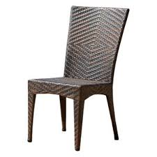Wicker Patio Dining Sets Modern Wicker Outdoor Dining Chairs Allmodern