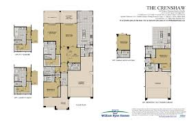 Square Floor Plans For Homes The Crenshaw Floor Plans William Ryan Homes