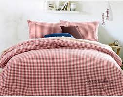 Twin Plaid Bedding by Online Get Cheap Coral Bedding Twin Aliexpress Com Alibaba Group