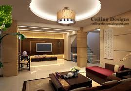 Modern Ceiling Design For Living Room by 50 Tray Ceiling Designs
