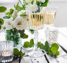 summer wedding table decor u2014 stock photo manera 76052035