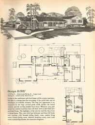 vintage house plans mid century homes split level homes good