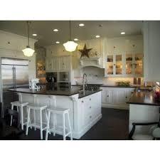 Schoolhouse Pendant Lights Home White Kitchen With Schoolhouse Pendant Lights Polyvore