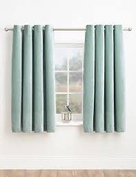 Plain Curtains Plain Ready Made Eyelet M U0026s