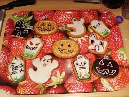 halloween baking u2013 scary spiced biscuits