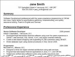 Sample Net Resumes For Experienced resume examples for experienced professionals traditional resume
