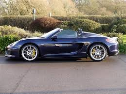 pistonheads porsche boxster used 2015 porsche boxster 981 12 current spyder for sale in