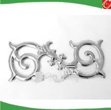 stainless steel door flower decoration accessories for gate or