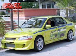 mitsubishi evo 7 2 fast 2 furious that is a awesome car cool cars pinterest cars evo and
