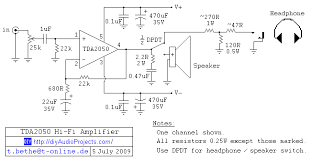 diy tda2050 hi fi chip amplifier chipamp