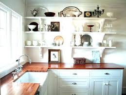 decorating ideas for kitchen shelves the best 100 kitchen shelving ideas image collections nickbarron