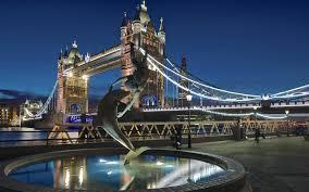 tower bridge london twilight wallpapers download 1920x1200 tower bridge london bridge night fountain