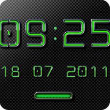 digi clock widget apk neon green digi clock widget android apps on play