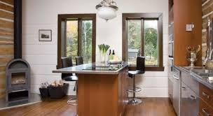 cuisine bois et inox alliance bois et inox deco cuisine décoration cuisinedécoration