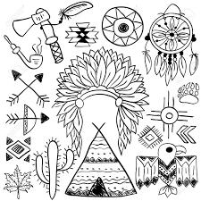 hand drawn doodle vector elements set vol 5 of 9 native