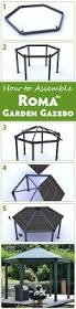 44 best gazebo ideas images on pinterest diy gazebo garden