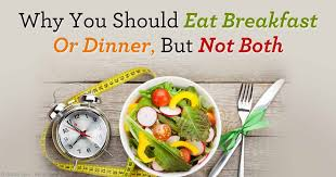intermittent fasting diet plan two meals a day are ideal