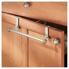 over the cabinet towel bar satin nickel interdesign target