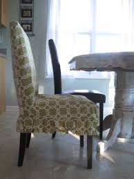 Slipcover Dining Room Chairs Best Parson Chair Slipcovers Chair Covers Design