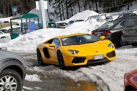 Lamborghini Aventador Matte Black - lamborghini aventador road trip a bull for all seasons motor trend