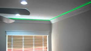 strip lighting with crown molding bathroom interiordesignew com