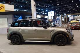 mini cooper modified the new mini countryman e at the 2017 chicago auto show