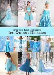 frozen u0027s elsa dress tutorials ice queen andrea u0027s notebook