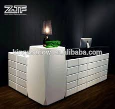 Hairdressing Reception Desk European Style Zjf Cheap Reception Desk Counter Table Design