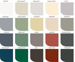 Awning Colors Window Awning Colorbond Colour Chart Doors And Windows