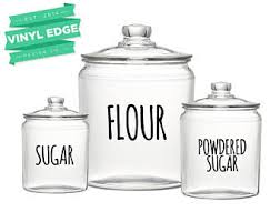 kitchen canister labels canister labels etsy