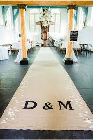 burlap wedding aisle runner 12 burlap wedding decor ideas
