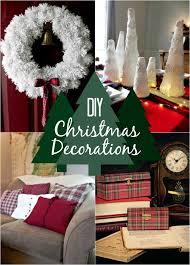 Glitter Deer Christmas Decor by Diy Christmas Decorations