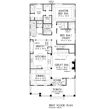 narrow floor plans 43 best narrow house plans images on narrow house